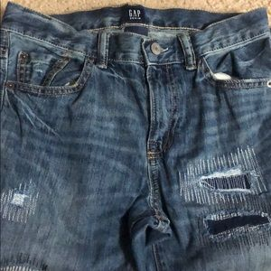 Boys Distressed Gap Jeans, size 16